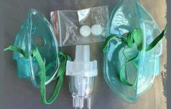 Набор: распылитель ингалятора классический, маска детская, маска для взрослых, воздушные фильтры
