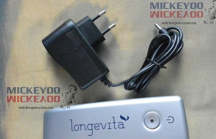 Блок питания ингалятора небулайзера Longevita BD 5007, Bremed BD 5007, компактный