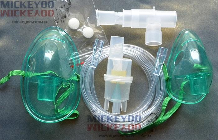 Полный набор комплектующих небулайзера, распылитель ингалятора LD