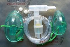 Повний набір комплектуючих небулайзера з розпилювачем LD (Ulaizer, Gamma, Longevita та iнш.)_0